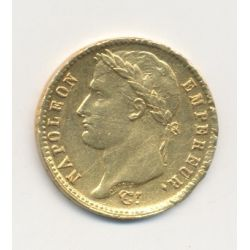 Napoléon empereur - 20 Francs Or - 1814 A Paris