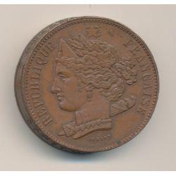 Concours monétaire Piéfort - 10 Centimes 1848 - Domard