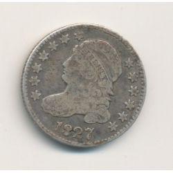 Etats-Unis - 10 Cents 1827