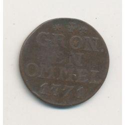 Hollande - Groningen - Duit 1771