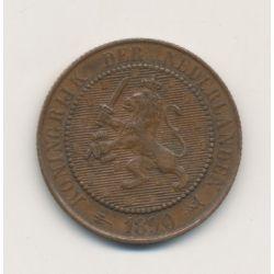 Hollande - 2 1/2 Cent 1890