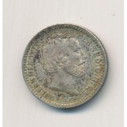 Hollande - 10 Cents 1885