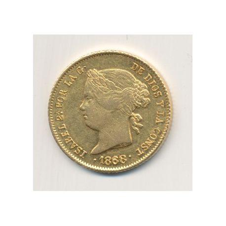 Philippines - 4 Pesos 1868 - Isabelle II