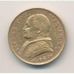 Vatican - 20 Lires 1866 XXIR