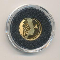 5 Euro 2008 Or - 50e anniversaire 5e République