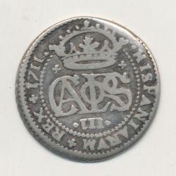 Espagne - 2 Reale 1711 Barcelone - Charles III