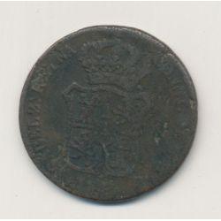 Espagne - 3 Quartos 1843 - Catalogne