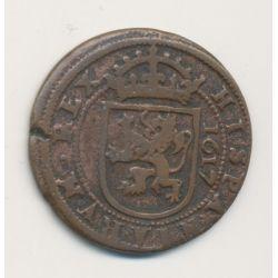 Espagne - 8 Maravédis 1617 - Segovia - Philippe III