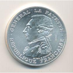 100 Francs 1987 essai - La Fayette - argent
