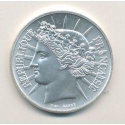 100 Francs 1988 essai - Fraternité - argent