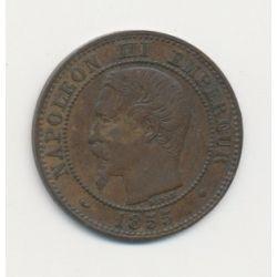 2 centimes Napoléon III - 1855 MA Marseille - Tête nue