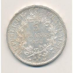 5 Francs Hercule - 1876 A Paris
