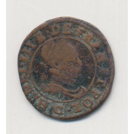Henri III - Double tournoi - 1588 C St Lo