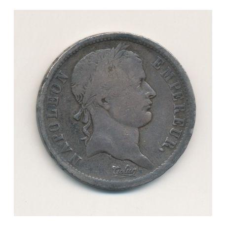 Napoléon empereur - 2 Francs - 1814 M Toulouse