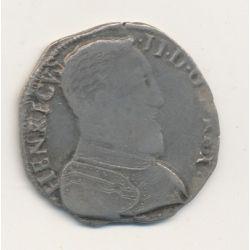 Henri II - Teston - 1559 H La Rochelle