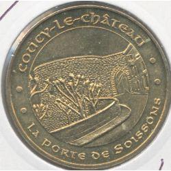 Dept02 - Coucy le château N°3 - 2011 - la porte de Soissons