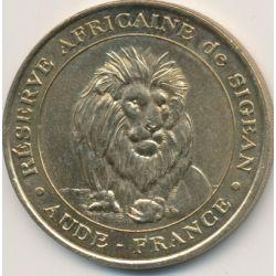 Dept11 - Réserve africaine Sigean N°1 - le lion N°1 - 2000