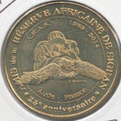 Dept11 - Réserve africaine Sigean N°19 - la tortue ARAS - 2014