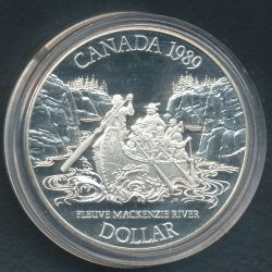 Dollar 1989 Rivière Mc Kenzie