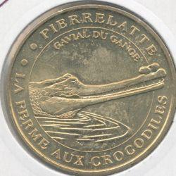 Dept26 - Ferme aux crocodiles N°2 - 2001 - Gavial du gange