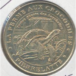 Dept26 - Ferme aux crocodiles - tortue géante 2003B - Pierrelatta
