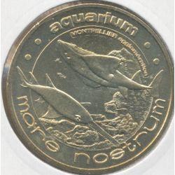 Dept34 - Aquarium Mare nostrum N°1 - poisson scie et raie - 2009 - Montpellier