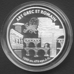 6,22957 Francs - 1 Euro Art grec et romain 1999