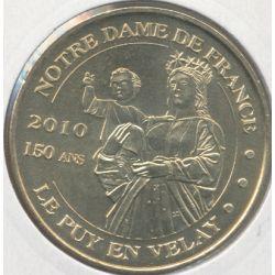 Dept43 - Statue notre-dame de france - vierge 150ans - 2009 - Le Puy en velay