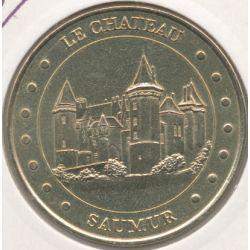 Dept49 - Chateau Saumur - face cerclée 2002