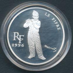 10 Francs - 1,5 Euro Le fifre de Manet 1996