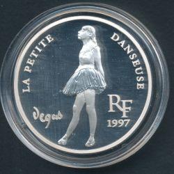 10 Francs - 1,5 Euro La petite danse de Degas