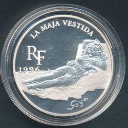 10 Francs - 1,5 Euro La maja vestida 1996