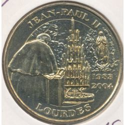 Dept65 - Jean Paul II - revers béatification - Lourdes - 2004