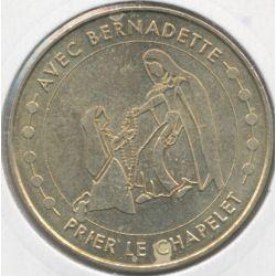 Dept65 - avec bernadette prier le chapelet - 2012 - Lourdes