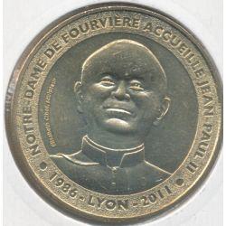Dept69 - Notre dame Fourvière N°3 - 2012 - Jean Paul II - Lyon
