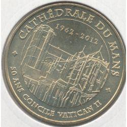Dept72 - Cathédrale St julien N°2 - 2012 - 50 ans concile vatican II - Le mans