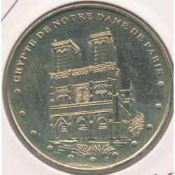 Dept7504 - Crypte Notre-dame de Paris - face simple - 2001