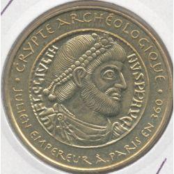 Dept7504 - Crypte archéologique - julien empereur - 2014