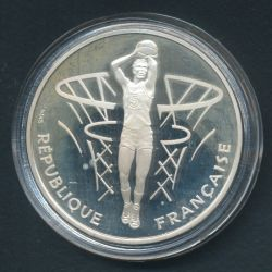 100 Francs 50e anniversaire FIBA Basket 1991
