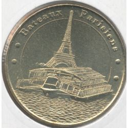 Dept7507 - Bateaux parisiens N°2 - 2006M - face cerclée - Paris