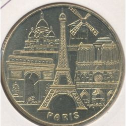 Dept7507 - Tour eiffel - les 5 monuments - Paris - 2006