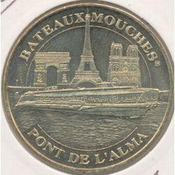 Dept7508 - Bateaux mouches - pont de l'alma - 2008 - Paris
