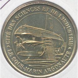 Dept7519 - Cité des sciences - sous marin argonaute - 2002 - Paris