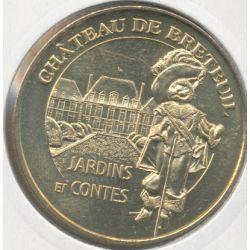 Dept78 - Chateau de Breteuil N°2 - 2011 - jardins et contes - le chat botté