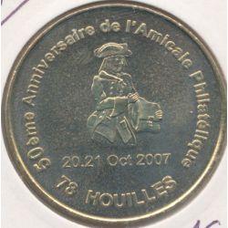 Dept78 - 50e anniversaire amicale philatélique Houilles - 2007