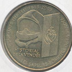 Dept85 - Historial de vendée - 2010 - soldats du feu - les lacs sur boulogne