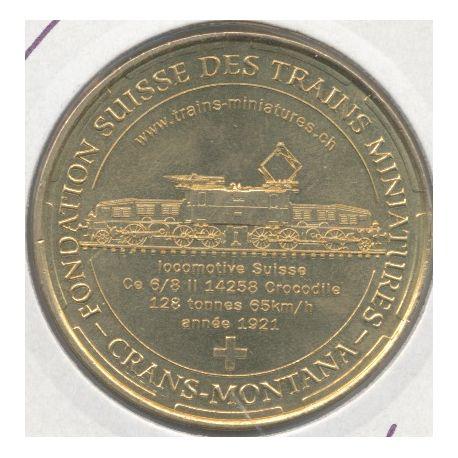 Suisse - fondation suisse des trains miniatures - 2014 - alle