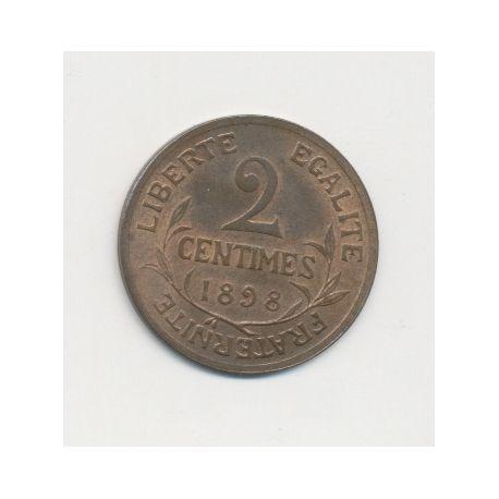 2 centimes Dupuis - 1898
