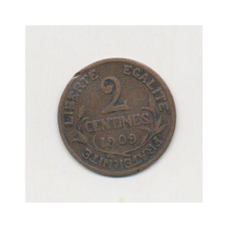 2 centimes Dupuis - 1909