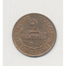 2 centimes Dupuis - 1910 - SUP+